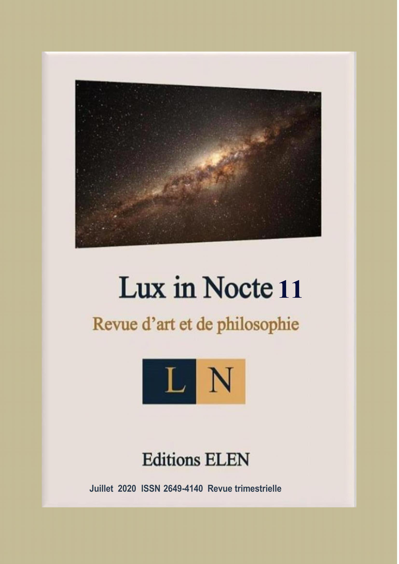 Lux in Nocte 11